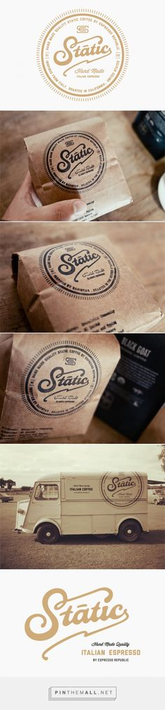 Static Coffee | Salih Kucukaga Design Studio