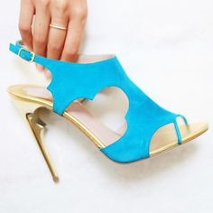 Looking to brighten up your #SS15 wardrobe? We choose #Alhambra in turquoise. #shoeporn #popofcolor #style #instafashion