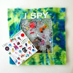 I Spy quiet book page  ~This is awesome.  I was just thinking of doing something like this for my nieces new baby girl!~