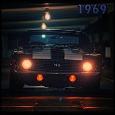 One word..Beautiful!- Chevy Camaro 1969!