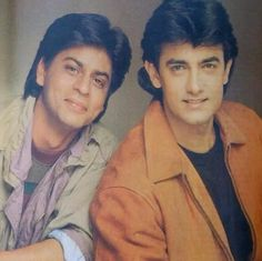 Shahrukh - Aamir Khan
