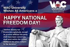 WAC University Celebrates the Festivities of the National Day with all the Americans Around the Globe! Central University, University University, Freedom Day, Online Degree Programs, Globe, Student, Learning, American, Balloon