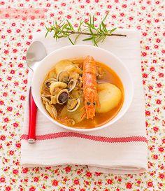 caldereta de pescado, receta