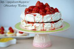 Enjoy Dessert!: Pavlova cu capsune si mascarpone - un an de blog!
