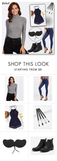 """""""ROMWE 1 / XX"""" by ozil1982 ❤ liked on Polyvore"""