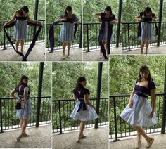 """The Convertible """"Infinity"""" Dress: How it almost defeated me, and what you need to make one"""