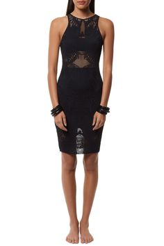 Для пляжа - Fitted Midi Dress #MaraHoffman Полиэстер / Спандекс Было -$ 234.00 стало -  $ 117.00