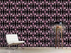 Design #Tapete Barocko Folk Pink