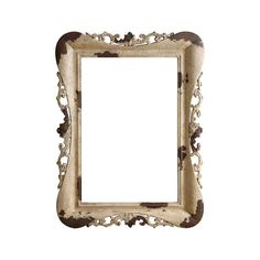 Photos and paintings get a romantic, rustic treatment in this handsomely figured frame. Its cream resin is marked with heavy antiquing for a rugged look. Use it to add emphasis around a print or to sim...  Find the Rustic Belle Frame, as seen in the The Grand Storyteller of Design Collection at http://dotandbo.com/collections/the-grand-storyteller-of-design?utm_source=pinterest&utm_medium=organic&db_sku=105475