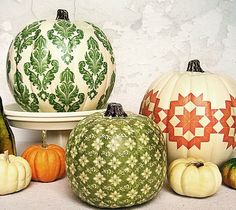 10 Gorgeous Ways to Decorate Pumpkins Without Carving Them (4 of 11)