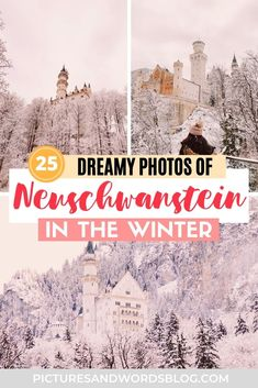 Germany Destinations, Winter Destinations, Travel Destinations, Best Winter Vacations, Best Places To Vacation, Europe Travel Guide, Travel Tips, Germany Castles, Neuschwanstein Castle