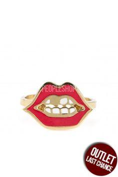 Anello Chiara ferragni Red Lips