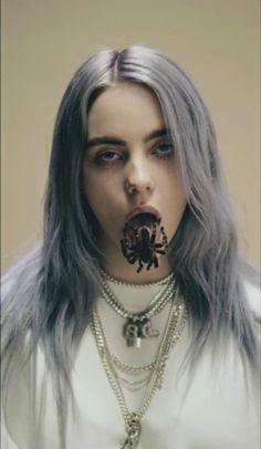 [Celebrities]Billie Eilish spider - Makeup Looks Korean