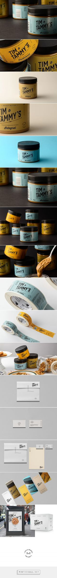 Tim & Tammy's - Brand Design on Behance - created via https://pinthemall.net