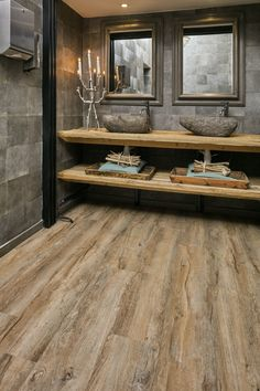 Rustic Bathroom Designs, Bathroom Design Luxury, Rustic Bathrooms, Stone House Plans, House Extension Design, Tiny House Cabin, Bathroom Styling, Bathroom Inspiration, Home Deco