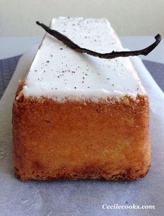 A simple vanilla cake? A yogurt cake in short? Cake Cookies, Cupcake Cakes, Cupcakes, Sweet Recipes, Cake Recipes, Dessert Recipes, Let Them Eat Cake, Vanilla Cake, Vanilla Yogurt