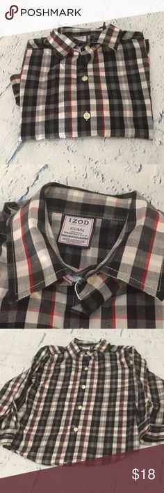 Boys button up XS & XL Like new condition. Izod Shirts & Tops Button Down Shirts