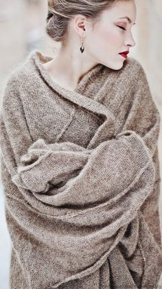comfortable and cozy knit sweater