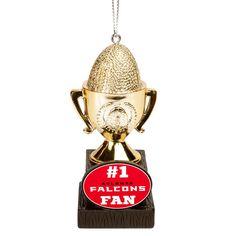 Atlanta Falcons Trophy Ornament - $7.99