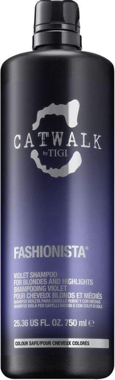 TIGI Catwalk Fashionista Violet Shampoo (Various Sizes) - 750ml