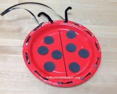 "Ladybird Sewing Plate at Trillium Montessori ("",)"