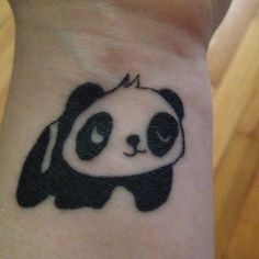 look at this cute panda tattoo!!!! :3