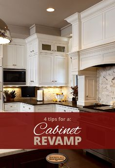 Cabinet Revamp with Showplace Cabinetry Kitchen Redo, Kitchen Remodel, Kitchen Design, Kitchen Cabinets, Kitchen Ideas, Easy Kitchen Updates, Updated Kitchen, Old House Decorating, Decorating Ideas