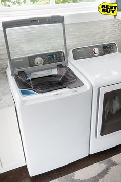 A washer is a washer, right? Wrong. These self-diagnosing, cycle-downloading washers with a built-in sink might just be the most innovative yet. It's time to upgrade your laundry and take care of that newly-upgraded wardrobe.