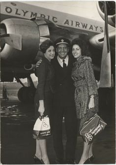 Old old happy years Olympic airways Greece. Greece History, Aristotle Onassis, Happy Year, New Politics, Historical Photos, Olympics, Fly Girls, The Past, Air Lines