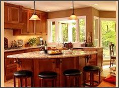 Kitchen Triangle Shaped Island Ideas Triangle Island Design Ideas Pictures Remodel And Decor House Pinterest Appliance Garage Cabinets And