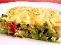 Receita de Torta Cremosa de Abobrinha - torta é mesmo ótima, mas eu costumo ralar as abobrinhas no ralo grosso, fica mais cremosa e evita que fiquem durinha...