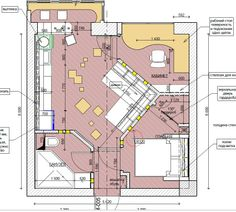 hotel floor plan bedroom apartment floor plan, probably of Russian design. Well thought out use of limited space. Apartment Layout, Apartment Plans, Bedroom Apartment, Small House Plans, House Floor Plans, Hotel Floor Plan, Hotel Room Design, Studio Apartment Decorating, Room Planning
