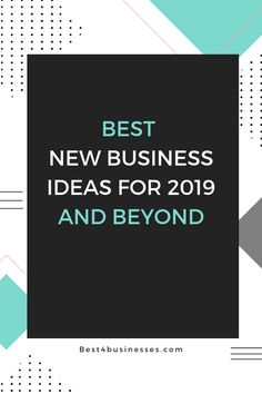 Great new business ideas for 2019, for women entrepreneur who are ready to start their small business - either online, creative, homebased - these ideas are successful and DIY. #entrepreneur #businessideas