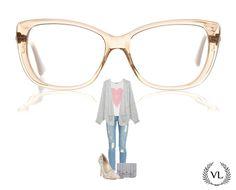 Óculos da Via Lorran com look fofo.