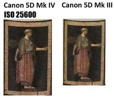 Canon 5D Mark IV vs. Canon 5D Mark III - High ISO Test