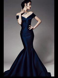 Zac Posen Pre-Fall 2014 Night Longer Dress