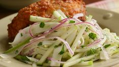 Apple & Fennel Slaw - Recipe - FineCooking