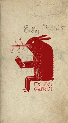 Exlibris of Guridi