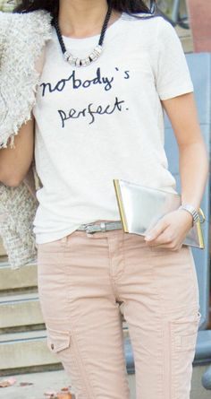 J.Crew Nobody's Perfect Tee ♡