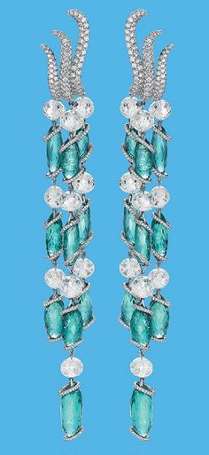 Chopard Earrings Red Carpet Collection #Women's Clothing #Accessories