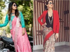 Easy Styling Tricks To Turn Any Saree Into A Designer Saree! Styling hacks to make your simple saree look designer saree, saree looks Corset Blouse, Ruffle Blouse, Diy Earrings Easy, Heavy Dupatta, Fashion Games, Fashion Tips, Embellished Belt, Simple Sarees, Lehenga Style