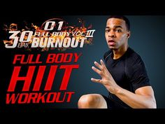 60 Min. Intense Total Body HIIT Workout | Day 01 - 30 Day Full Body Burnout Vol. 3 - YouTube
