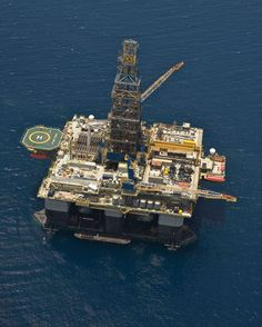 Ensco Offshore Rigs | The Noble Jim Day, a dynamically positioned semisubmersible rated to ...
