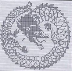 Vector of 'Chinese black water Dragon - symbol of 2012 year'
