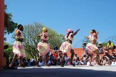 Haitian dancers at Labadee