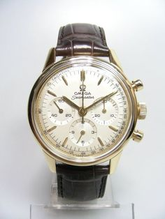 1970's - Omega Seamaster Chronograph Vintage, yellow gold, manual wound. Omega Seamaster Chronograph, Wardrobe Capsule, Wristwatches, Vintage Yellow, Omega Watch, Manual, My Style, Gold, Accessories