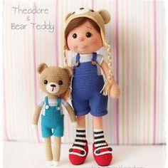 Amigurumi Büyük Safiş Bebek Yapılışı-Amigurumi Free Pattern Doll | Tiny Mini Design