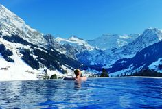Hydrotherapy pool under the snow in the Alps! | Blog de Auto Turistica Iberica