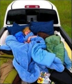 Go truck camping, SO on my bucket list.