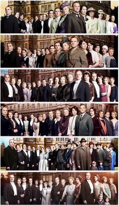 The end of an era - Downton Abbey series 1 - 6 ..